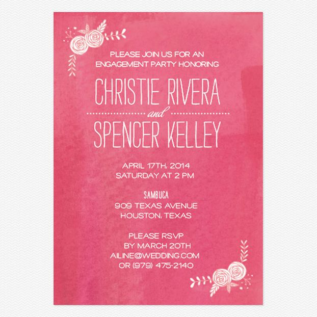 78 Best images about Engagement party invitations – How to Word Engagement Party Invitations