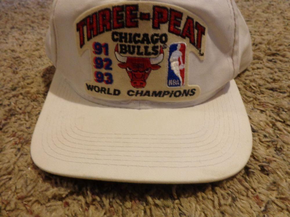 d63aada5bd691 order chicago bulls three peat hat 8920b 54973
