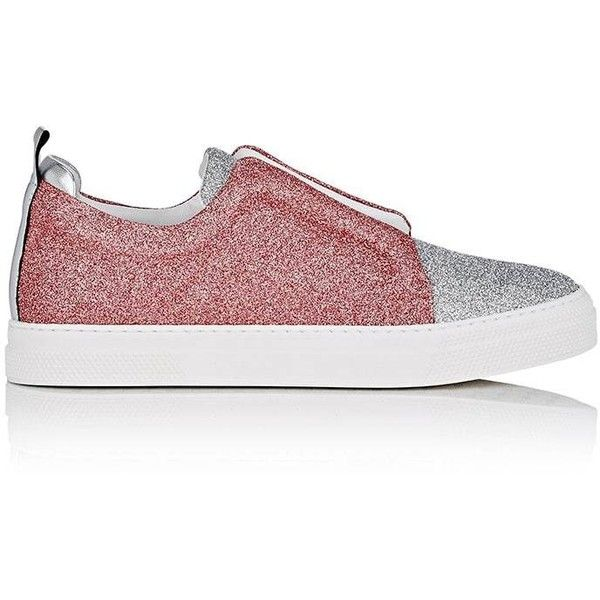 Pierre Hardy Women's Slider Glitter Sneakers (680 LYD) ❤ liked on Polyvore  featuring shoes