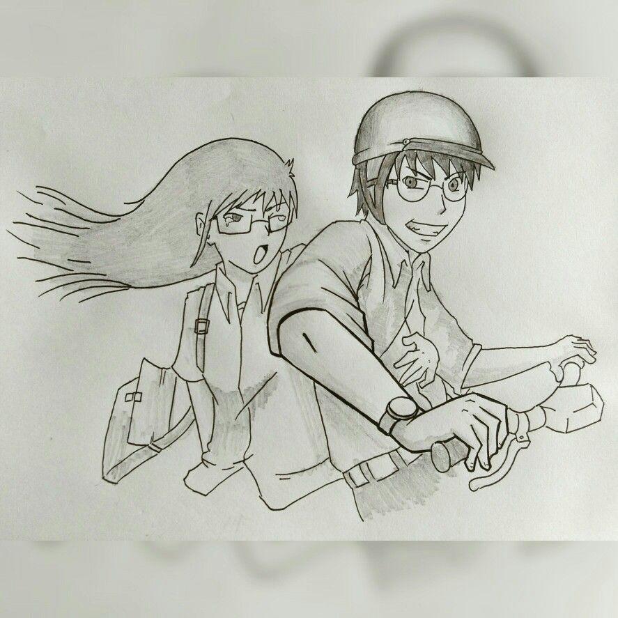 Gambar pensil romantis