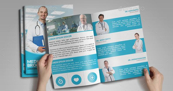 medical brochure templates