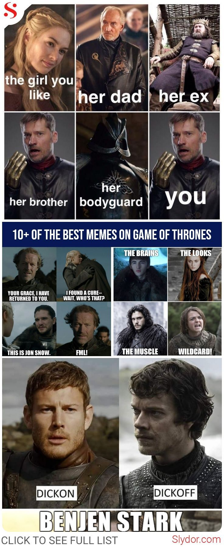 10+ Of The Best Memes On Game Of Thrones #funny # ...
