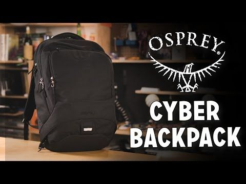 Osprey Cyber Tech Backpack Review - YouTube  4c7d078736739