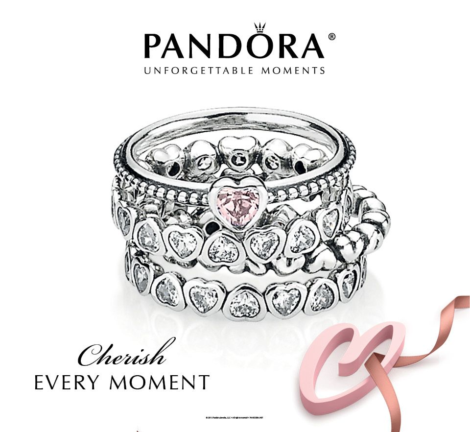 pandora rings - Pandora Valentines Day Ring