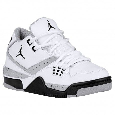 air jordan shoes 23,Jordan Flight 23 - Boys' Grade School - Basketball -  Shoes - White/Black/Wolf Grey-sku:17821117