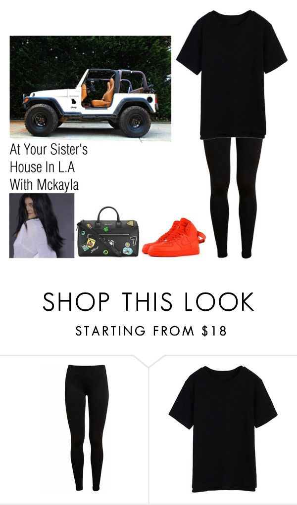 """""""At Your Sister's House In L.A With Mckayla"""" by britneygeminigirl ❤ liked on Polyvore featuring Vince, NIKE, women's clothing, women, female, woman, misses and juniors"""