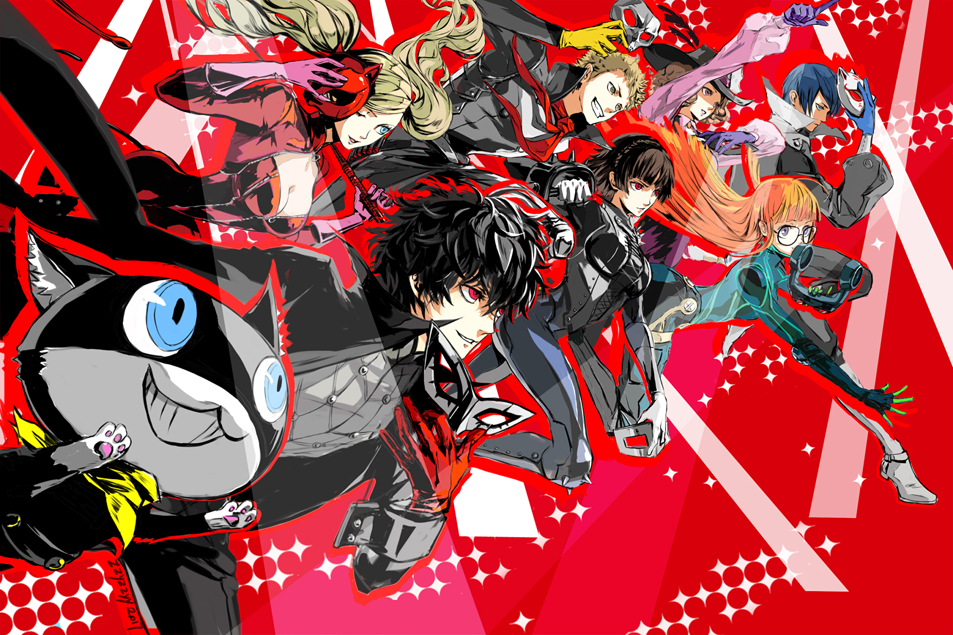 Persona 5 HD Wallpaper 12 1920 X 1280