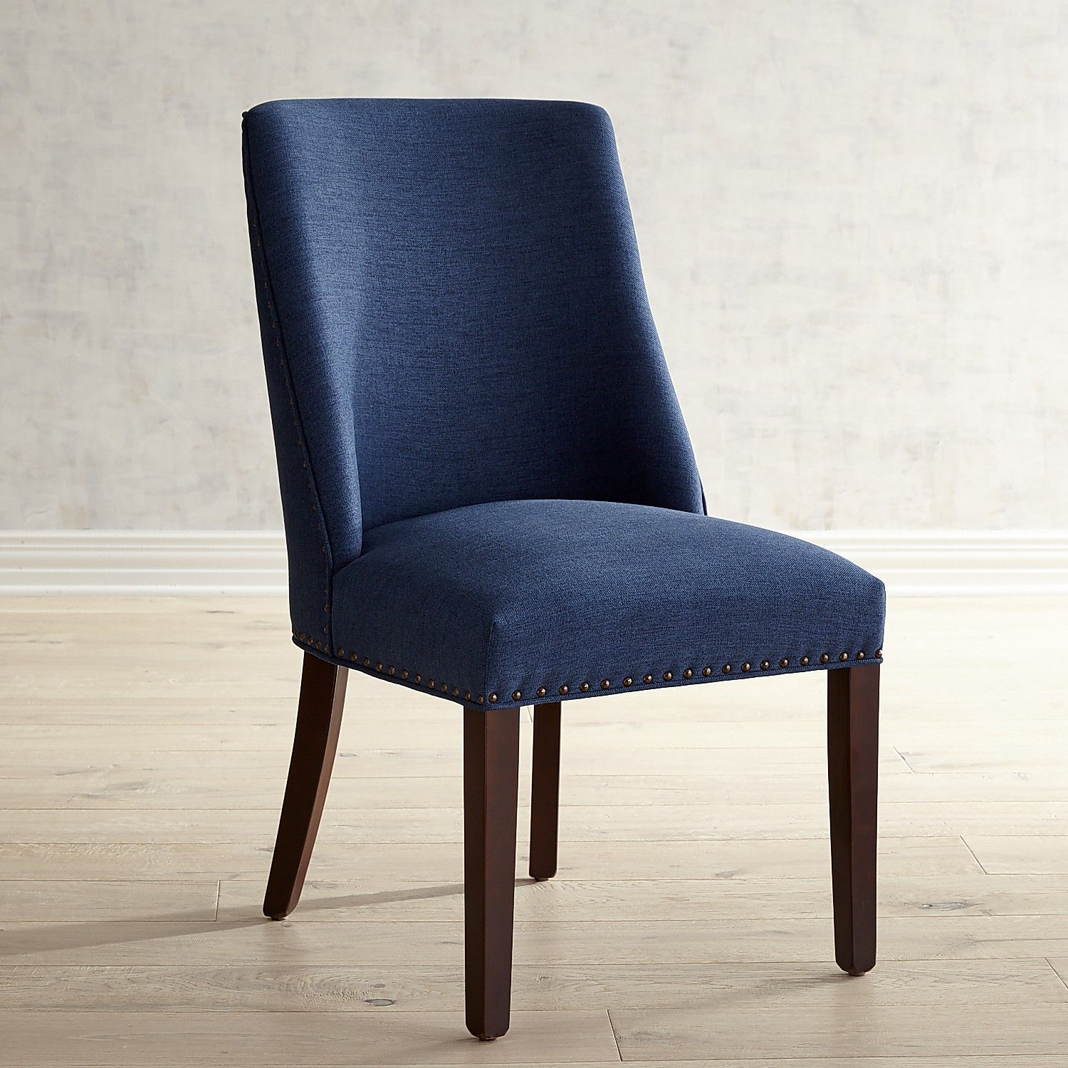 Corinne Pierformance Baltic Blue Dining Chair With