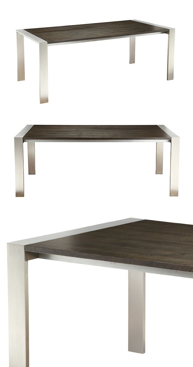Indulge in your nightly meals while stylishly seated around this handsome Calvin Dining Table.…