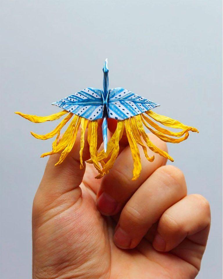 ===Grullas de papel Origami=== F0e3868abfbb733883a5f1c19b653a27