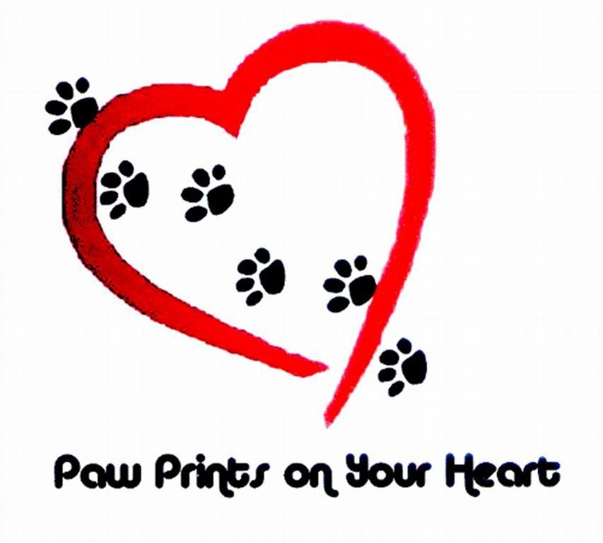 Heart Shaped Paw Prints Tattoos: Dog Tattoos, Dog Paws, Cat Tattoo