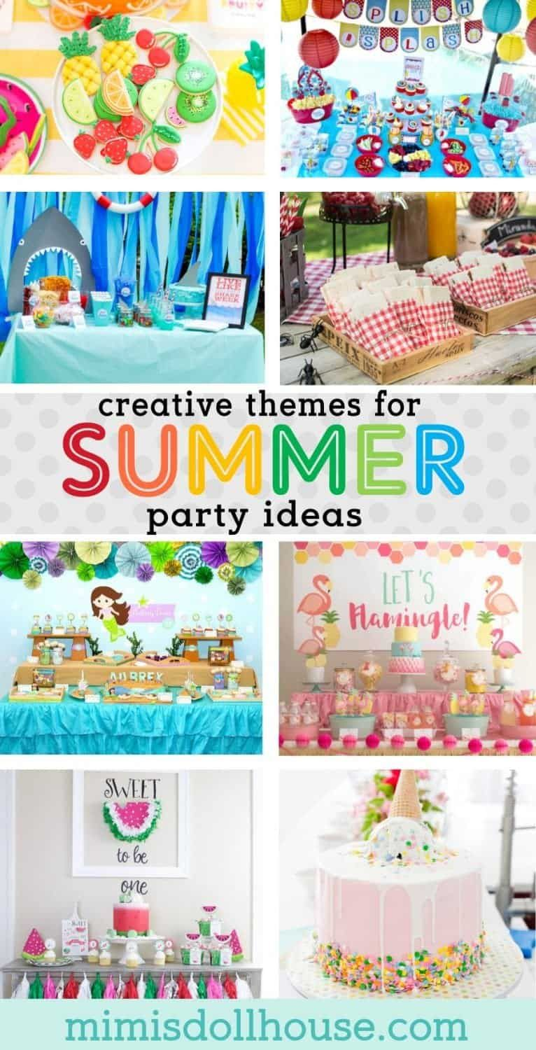 Hot Summer Party Themes