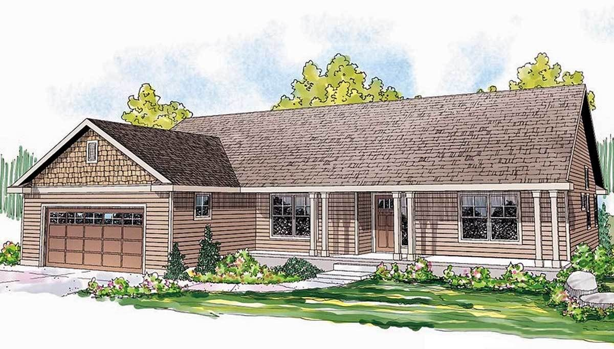 Clic Ranch Home Plan in 2019 | Ranch house plans, Ranch ... on ranch style home floor plans, one story open floor house plans, acadian style home floor plans, classic home floor plans, simple ranch house floor plans,