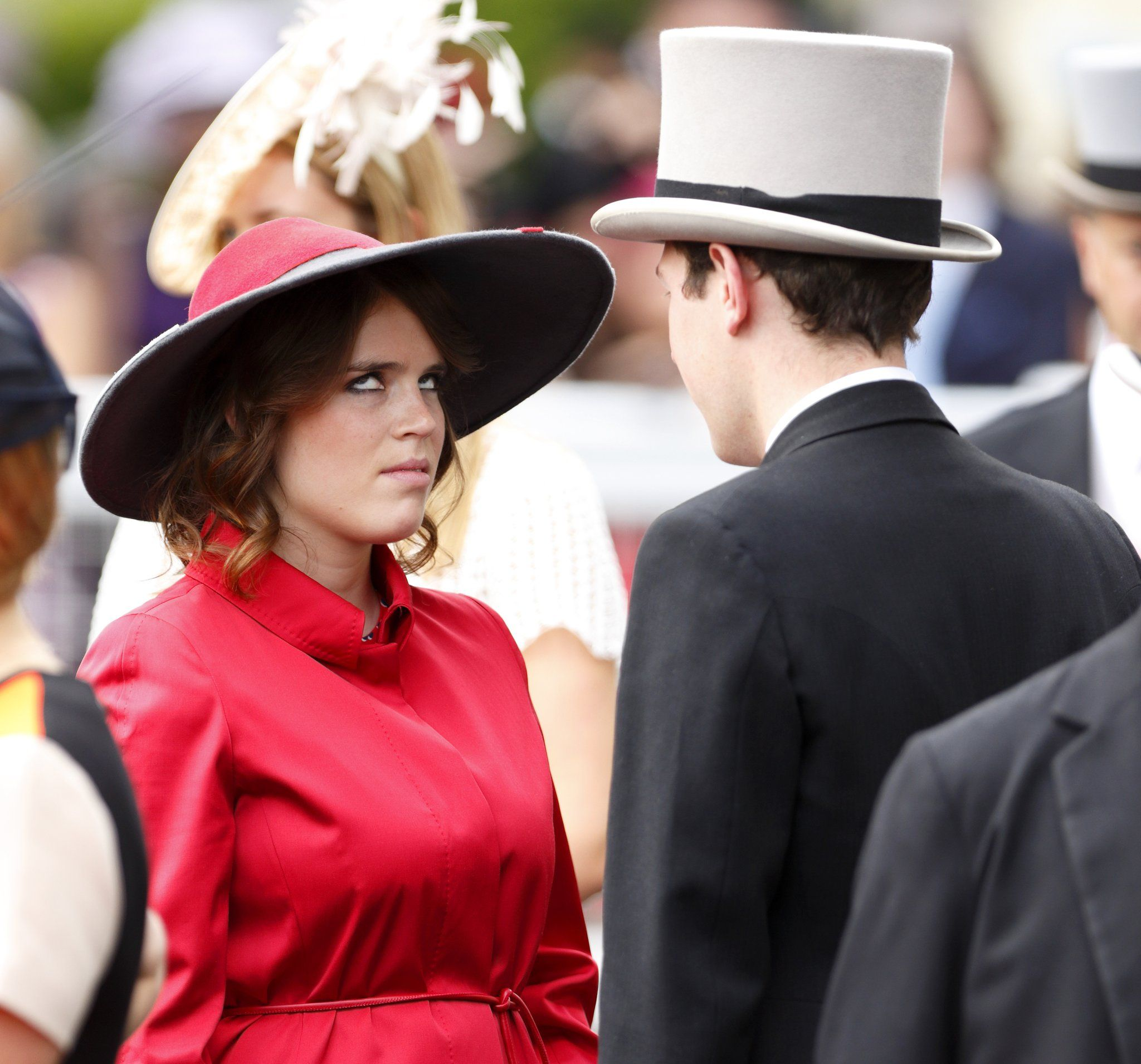 And her eyeroll is iconic Princess eugenie, Princess