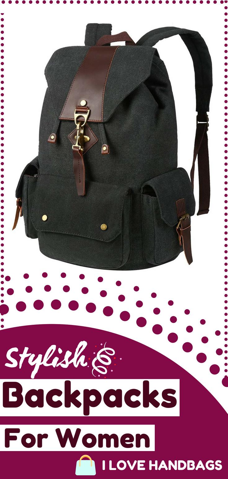 b1cde3b700 Backpacks for women   Vbiger Vintage Canvas Backpack Casual Shoulder Bag  Large Capacity Rucksack for Men