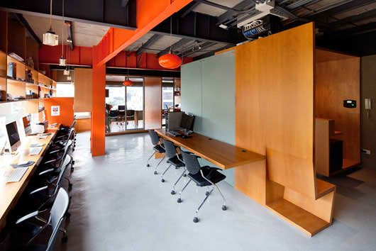 Colorful Office Interior Design Modern Creative And Beautiful Color