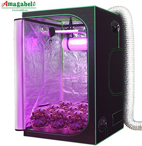 Amagabeli Hydroponic Grow Tent for Indoor Plants Growing Room with Removable Floor Tray Grow Kit Mylar Ventilation Box Vegetable Seedling Sprout for Carbon ...  sc 1 st  Pinterest : weed grow tent kit - memphite.com