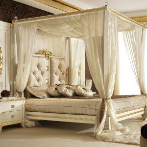 9000 Black Canopy Bedroom Sets New HD