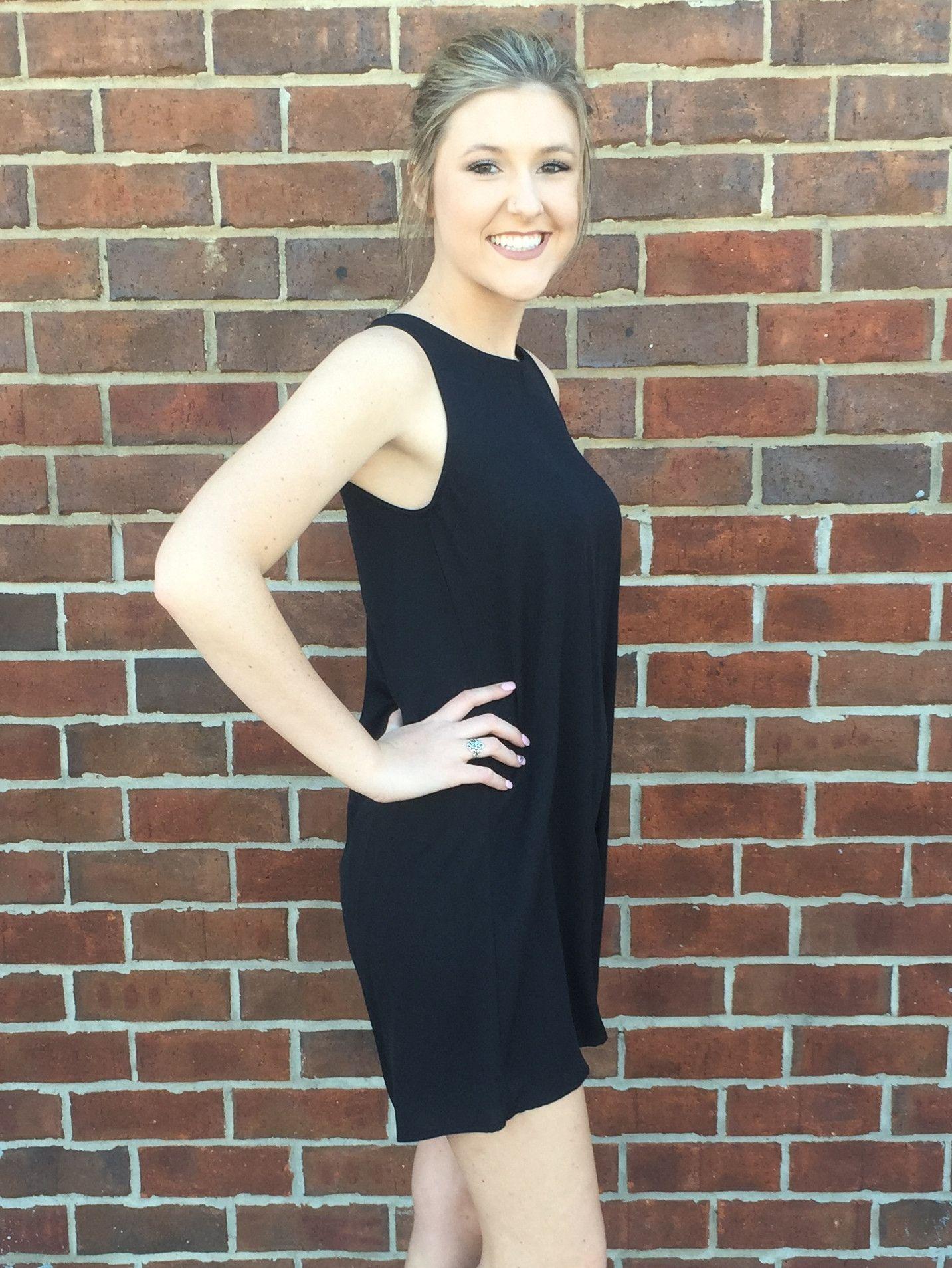 Little black zipper back dress products