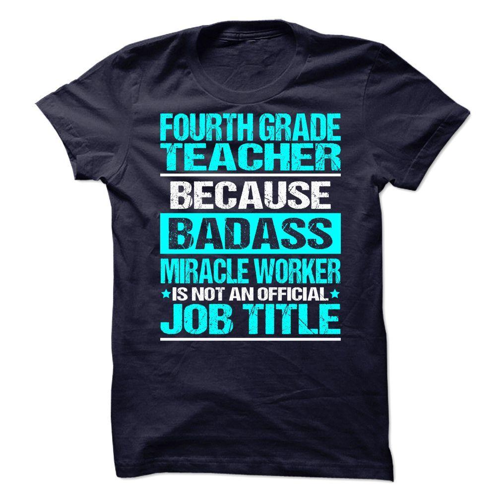 (Tshirt Order) Awesome Tee For Fourth Grade Teacher [TShirt 2016] T Shirts…