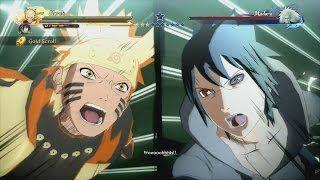 Naruto & Sasuke vs Madara Full Boss Battle (English Dub