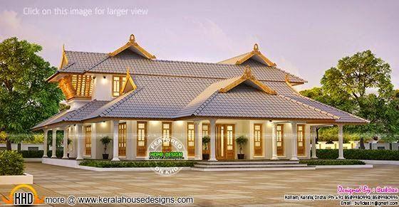 Stunning Nalukettu Home Homes Pinterest Kerala