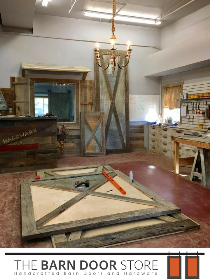 Our BDS Crew just finished 10 beautiful reclaimed barn wood doors. The wood came from & Our BDS Crew just finished 10 beautiful reclaimed barn wood doors ... pezcame.com