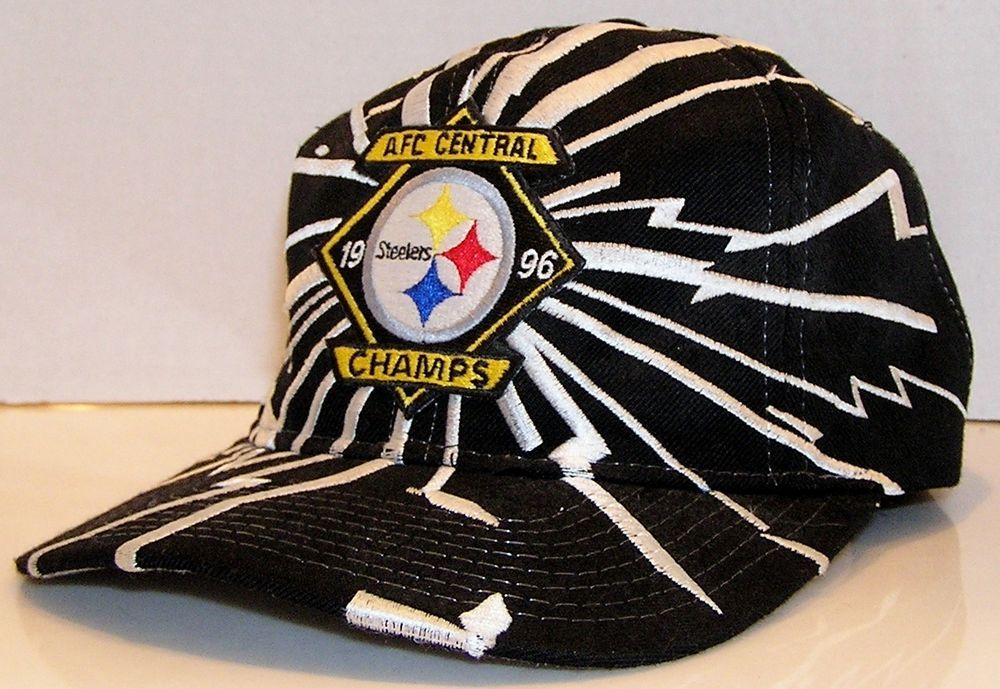 c085bc00 Pittsburgh Steelers AFC Central 1996 Champs Vintage Starter NFL ...