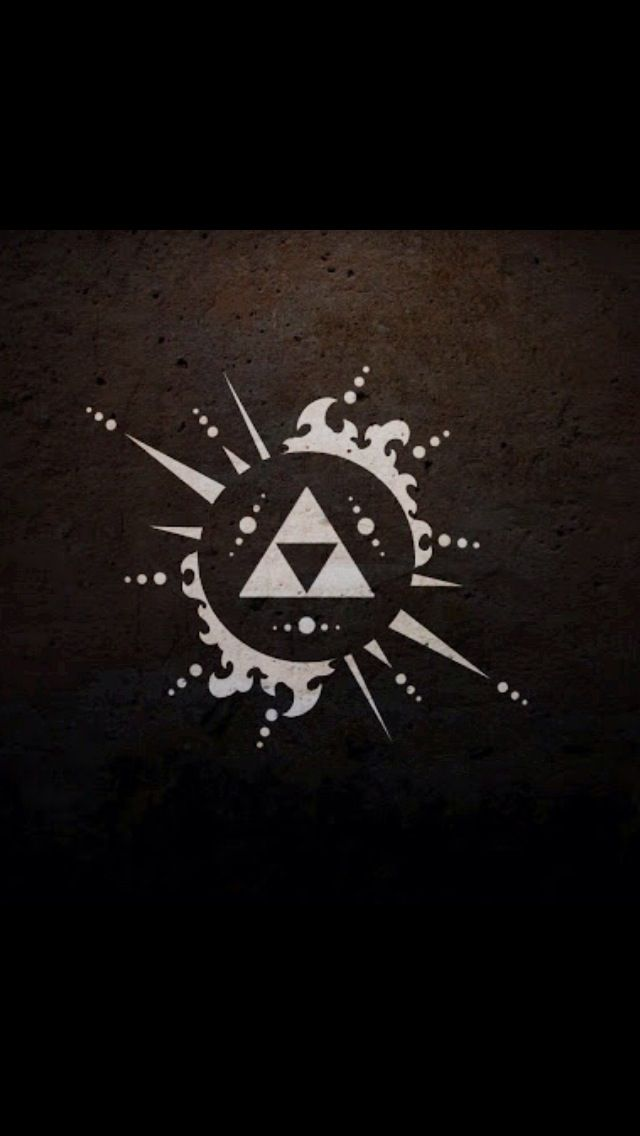 Triforce Zelda Logo Legend Of Zelda Triforce