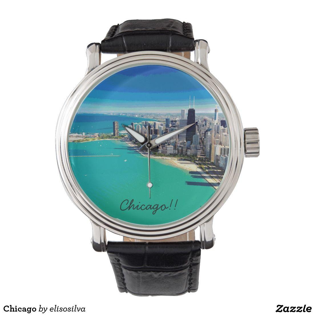 Chicago Reloj De Mano