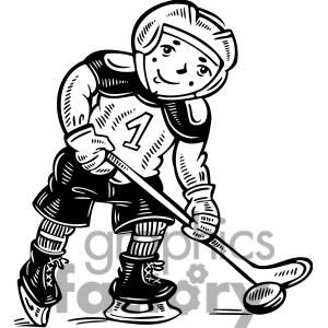 Child Hockey Player Clipart Royalty Free Clipart 381573 Clip Art Hockey Players Hockey