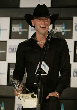 Kenny at CMA awards