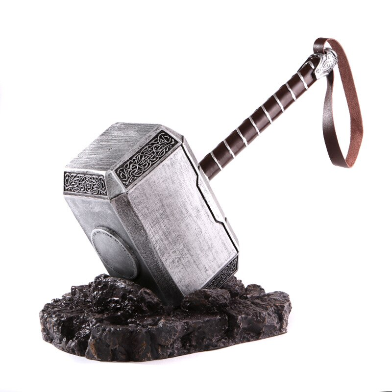 Figurita De Martillo Thor Mjolnir De 44 Cm Figura De Accion De Resina Juguete De Modelos Coleccionables Juguet Thor Hammer Replica Thors Hammer Replica Prop