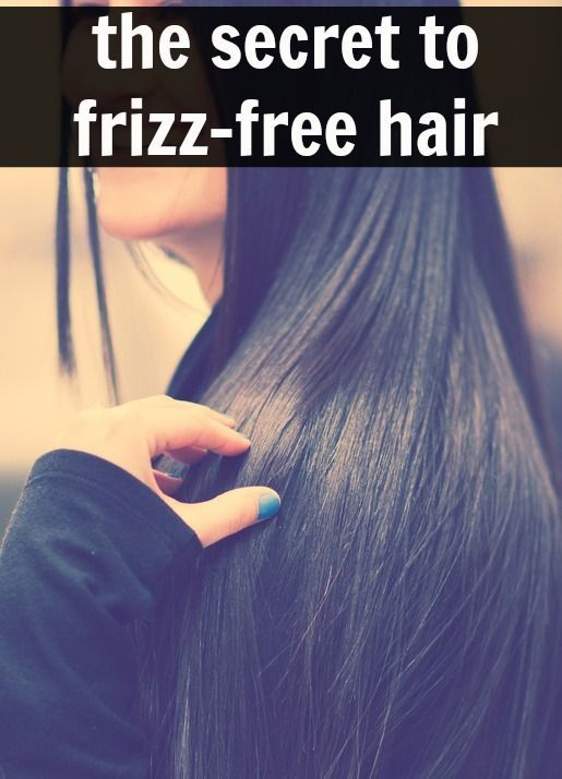 how to keep frizzy hair down