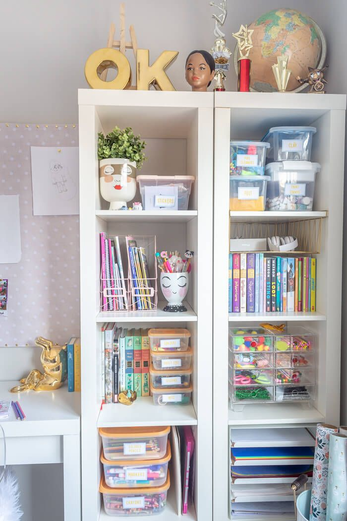 Girls Bedroom Refresh Reveal – $100 Room Challenge – The Home I Create