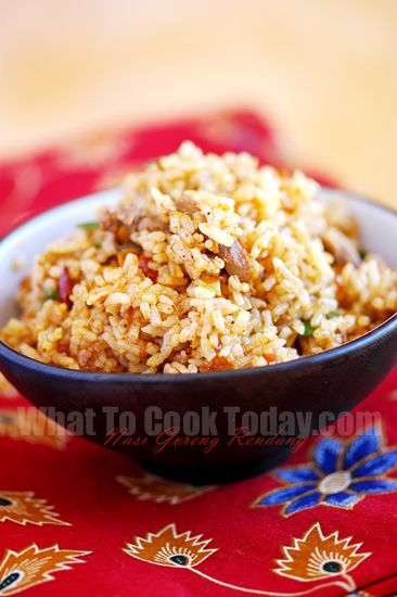 Roasted Chickpeas Fried Rice Nasi Goreng Fried Rice Cooking