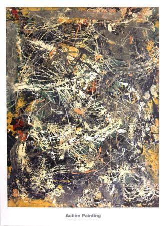 Untitled (1949) Art Print by Jackson Pollock at Art.com