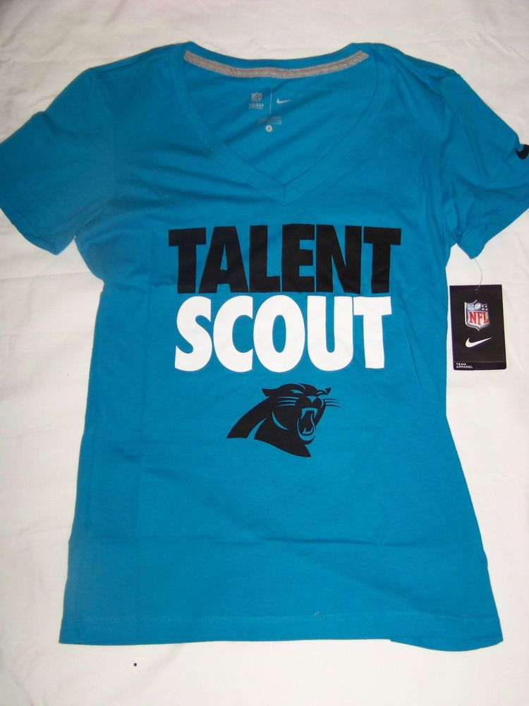 Nike Women s Carolina Panthers Talent Scout Shirt NWT  Nike  Shirt 9595396b6