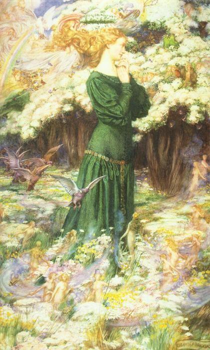 Британская художница-иллюстратор Eleanor Fortescue-Brickdale (1871-1945)