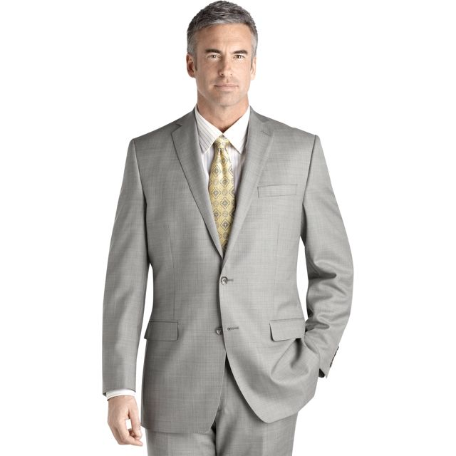 This Calvin Klein suit is synonymous to the staple grey suit for ...