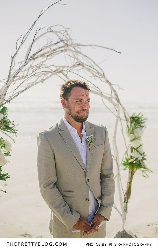 Barefoot on the Beach Was The Theme Of The Day | Beach wedding ...