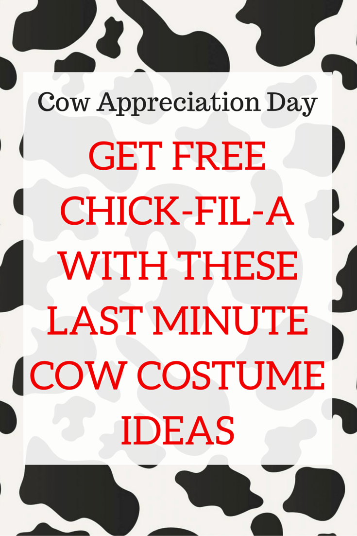 photo regarding Chick Fil a Cow Appreciation Day Printable called Pin upon The Running a blog Elite