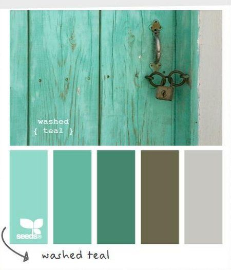 Teal Colour Schemes For Bedrooms - Google Search