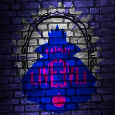 Evie Evil Queen Descendants Long Live Evil Art Graffiti Disney Descendants Disney Decendants Evie Descendants