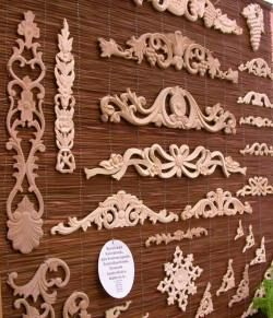 Decorative Wood Molding For Furniture Carving Wood Ornamental