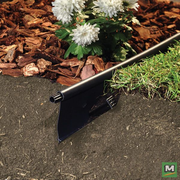 Maintain Clean Crisp Lines In Your Landscaping With Master Mark Plastics 4 5 8 X 20 Lawn Edging Made With High Quality Lawn Edging Garden Edging Landscape