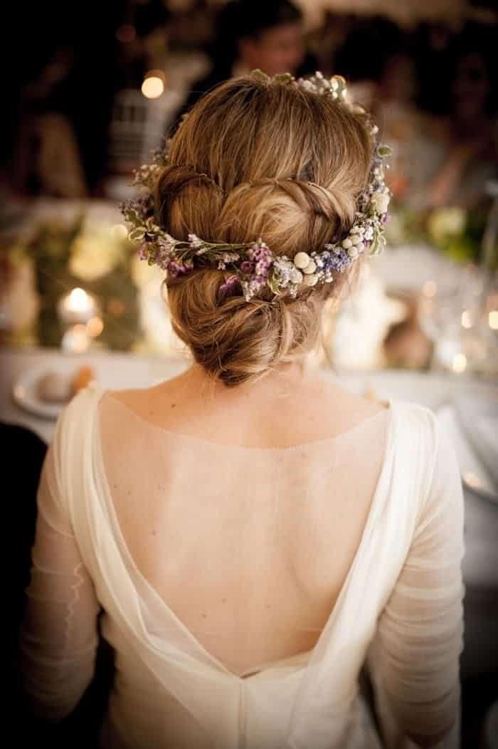 Peinados para bodas rusticas