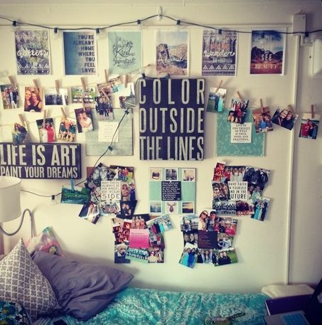Dorm Room Decorating Idea Definitely Has To Be A Good Old Quote Part 14