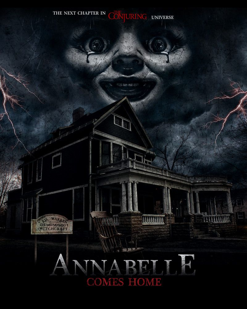 Annabelle Comes Home Poster Scary Movies To Watch Horror Movie Posters Scary Movies
