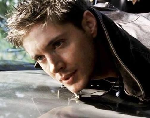 Dean getting arrested for having nothing real except for his 'boobs'. Pilot episode.